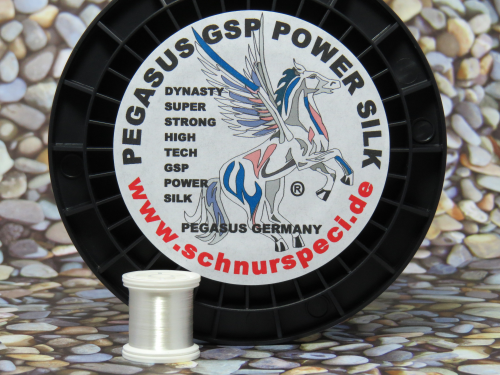 Dynasty Power Silk weiss 1000m 30 Denier 20/0