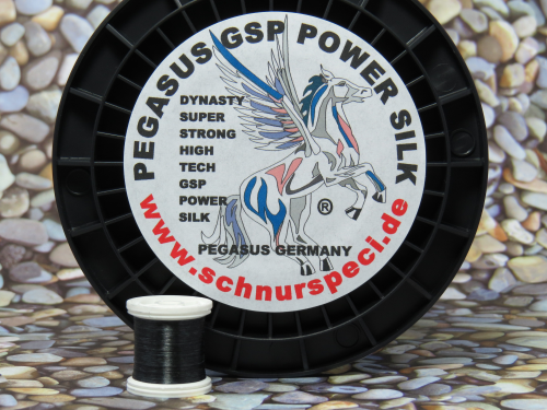 Dynasty Power Silk schwarz 1000m 30 Denier 20/0